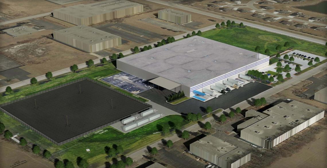 Wacker Neuson Storage Yard Expansion Germantown, WI MHC