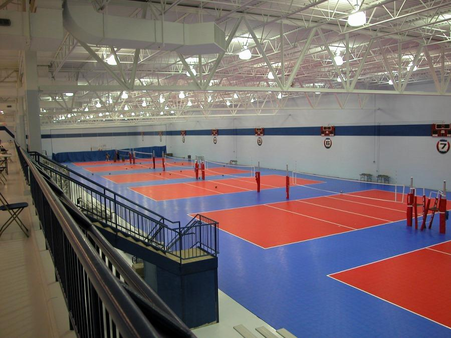 Great Lakes Volleyball Center Morgan Harbour Construction